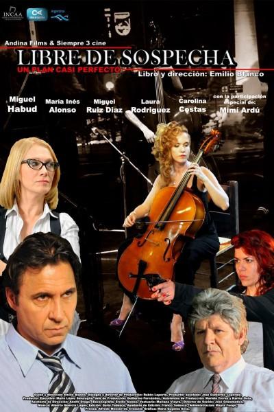 Caratula, cartel, poster o portada de Libre de sospecha