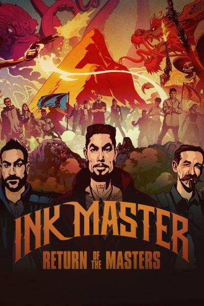 Caratula, cartel, poster o portada de Ink Master
