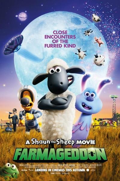 Caratula, cartel, poster o portada de La oveja Shaun. La película: Granjaguedón