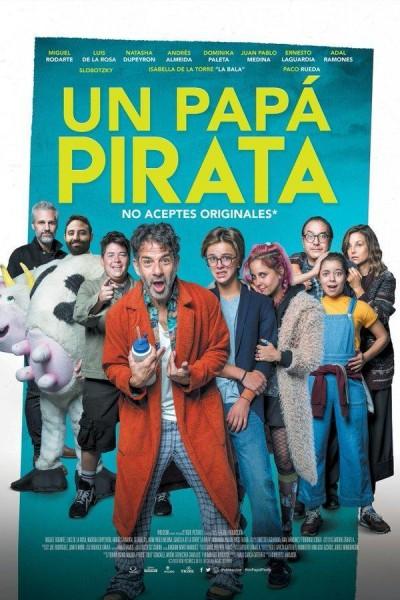 Caratula, cartel, poster o portada de Un papá pirata