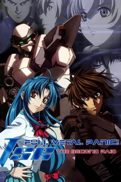 Caratula, cartel, poster o portada de Full Metal Panic! The Second Raid