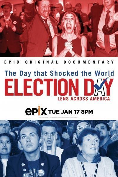 Caratula, cartel, poster o portada de Election Day: Lens Across America