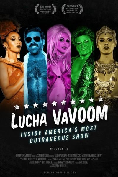 Caratula, cartel, poster o portada de Lucha VaVoom: Inside America\'s Most Outrageous Show