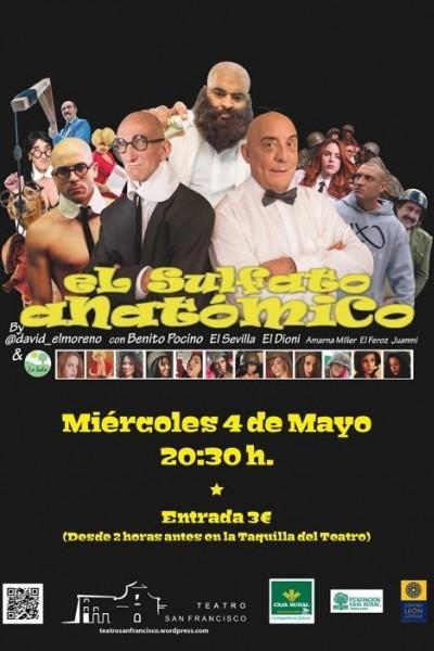 Caratula, cartel, poster o portada de El sulfato anatómico