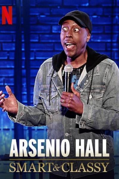 Caratula, cartel, poster o portada de Arsenio Hall: Smart and Classy