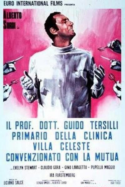 Caratula, cartel, poster o portada de Doctor Tersilli, médico de la clínica Villa Celeste, afiliada a la mutua