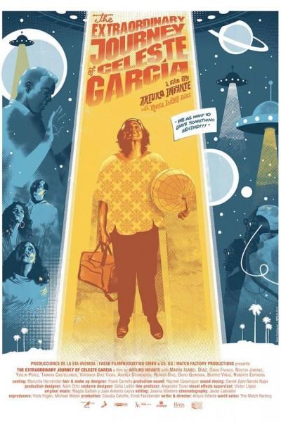 Caratula, cartel, poster o portada de El viaje extraordinario de Celeste García