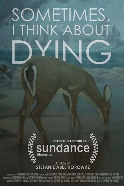 Caratula, cartel, poster o portada de Sometimes, I Think About Dying