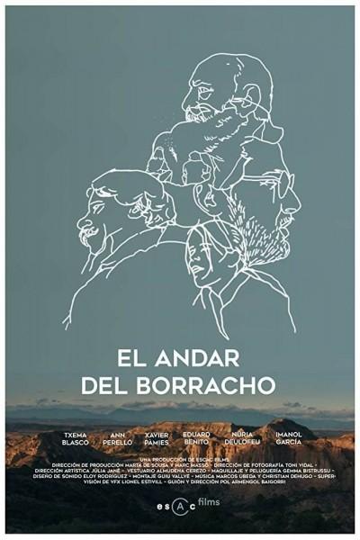 Caratula, cartel, poster o portada de El andar del borracho