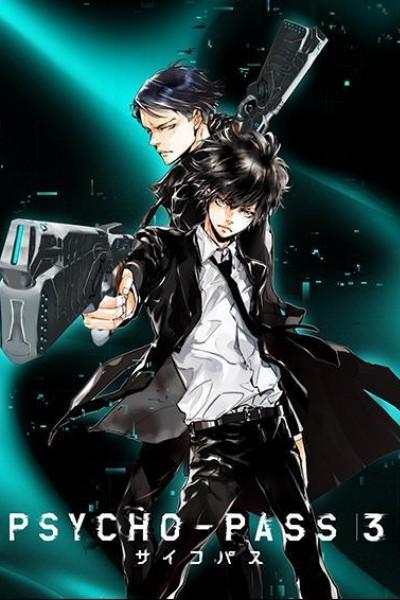 Caratula, cartel, poster o portada de Psycho-Pass 3