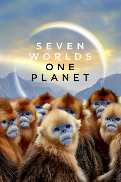 Caratula, cartel, poster o portada de Siete mundos, un planeta