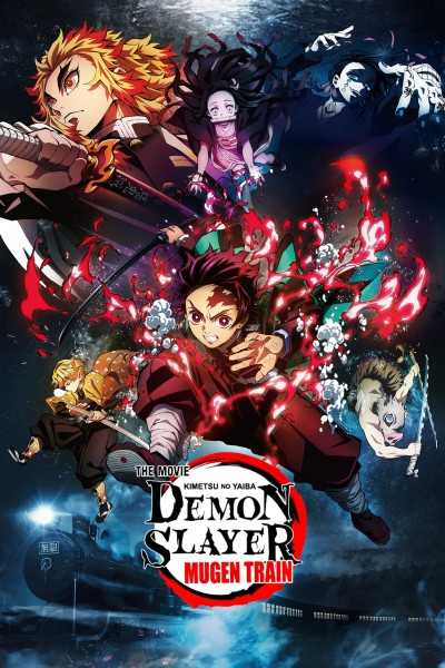 Caratula, cartel, poster o portada de Demon Slayer the Movie: Mugen Train