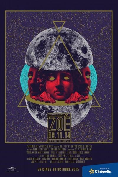 Caratula, cartel, poster o portada de Zoé 08.11.14