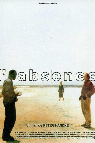 Caratula, cartel, poster o portada de La ausencia