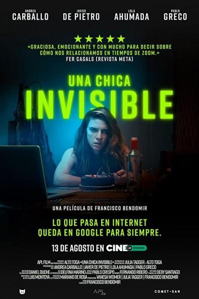 Caratula, cartel, poster o portada de Una chica invisible