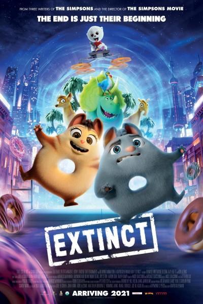 Caratula, cartel, poster o portada de Extinct