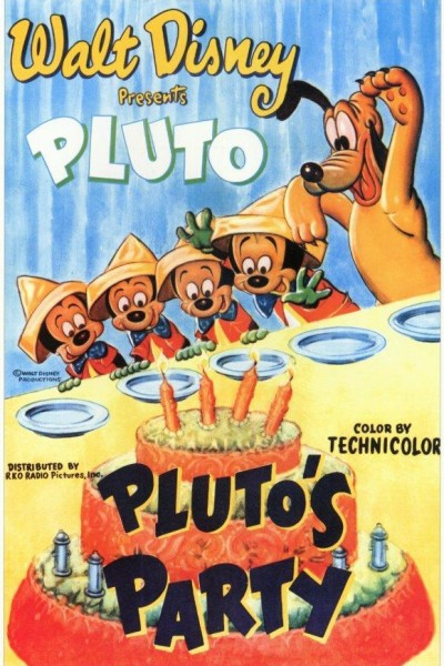 Caratula, cartel, poster o portada de Mickey Mouse: La fiesta de Pluto