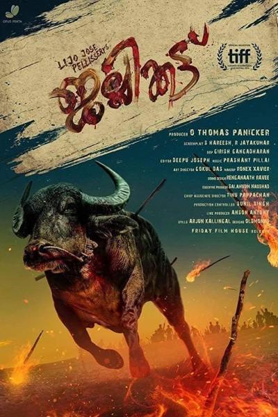 Caratula, cartel, poster o portada de Jallikattu