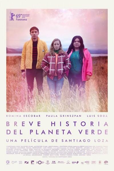 Caratula, cartel, poster o portada de Breve historia del planeta verde