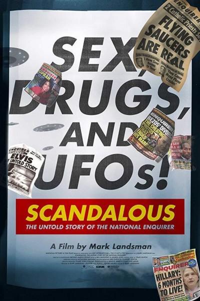 Caratula, cartel, poster o portada de Scandalous: The Untold Story of the National Enquirer