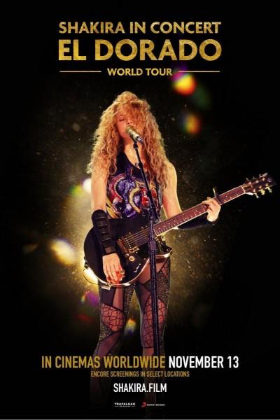 Caratula, cartel, poster o portada de Shakira en concierto: El Dorado Wolrd Tour