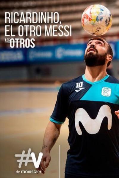 Caratula, cartel, poster o portada de Ricardinho, el otro Messi