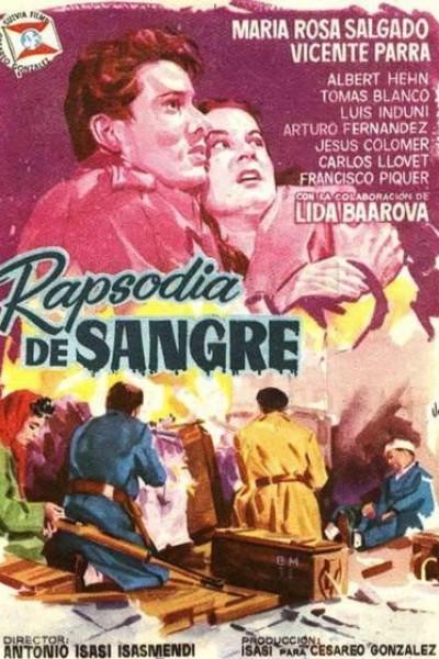 Caratula, cartel, poster o portada de Rapsodia de sangre