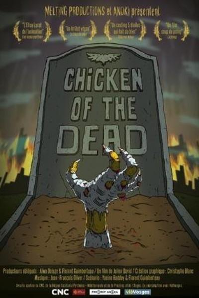 Caratula, cartel, poster o portada de Pollo de los muertos