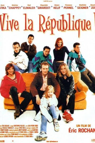 Caratula, cartel, poster o portada de Vive la république