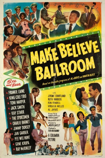 Caratula, cartel, poster o portada de Make Believe Ballroom