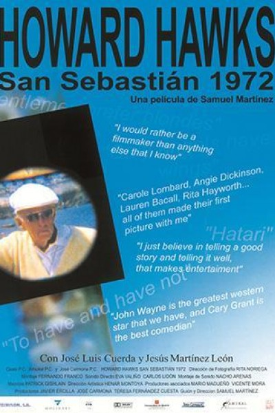 Caratula, cartel, poster o portada de Howard Hawks San Sebastián, 1972