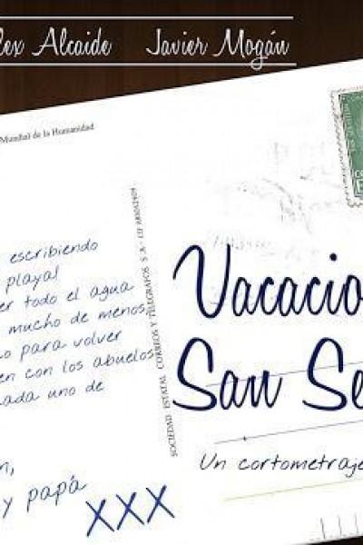 Caratula, cartel, poster o portada de Vacaciones en san sebastián