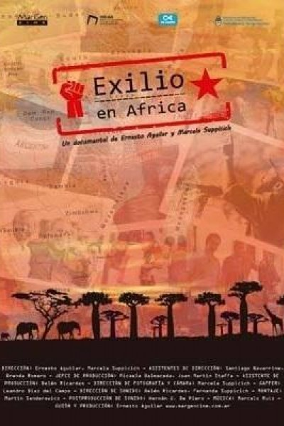 Caratula, cartel, poster o portada de Exilio en África