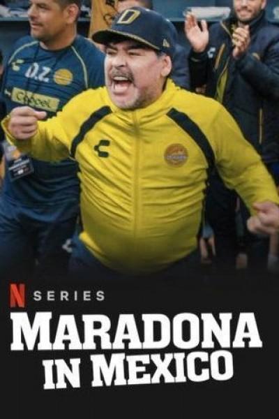 Caratula, cartel, poster o portada de Maradona in Mexico