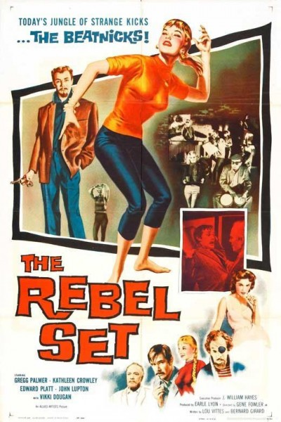 Caratula, cartel, poster o portada de The Rebel Set