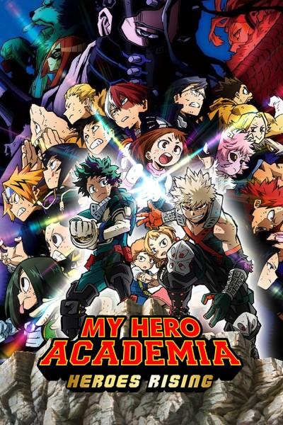 Caratula, cartel, poster o portada de My Hero Academia: Heroes Rising