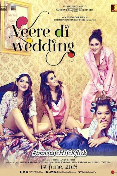 Caratula, cartel, poster o portada de Veere Di Wedding