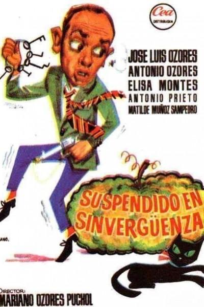 Caratula, cartel, poster o portada de Suspendido en sinvergüenza