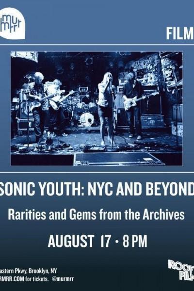 Caratula, cartel, poster o portada de Sonic Youth - NYC and Beyond