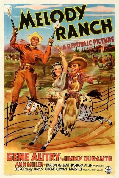 Caratula, cartel, poster o portada de En alas del amor sheriff a la fuerza