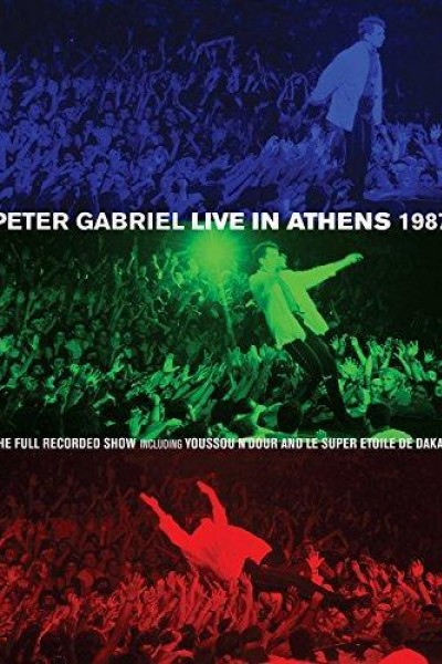 Caratula, cartel, poster o portada de Peter Gabriel: Live in Athens 1987