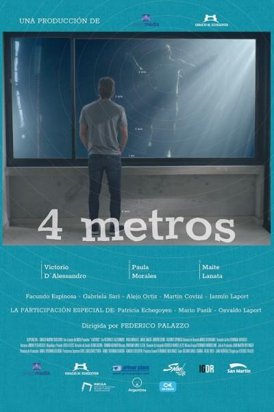 Caratula, cartel, poster o portada de 4 metros