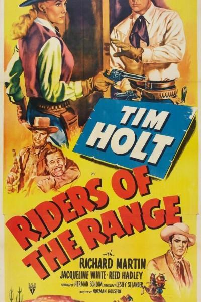 Caratula, cartel, poster o portada de Riders of the Range