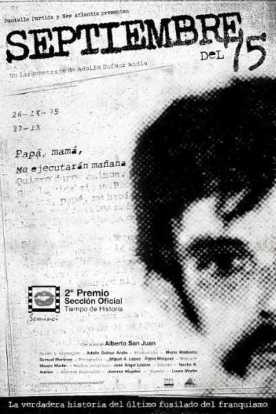 Caratula, cartel, poster o portada de Septiembre del 75