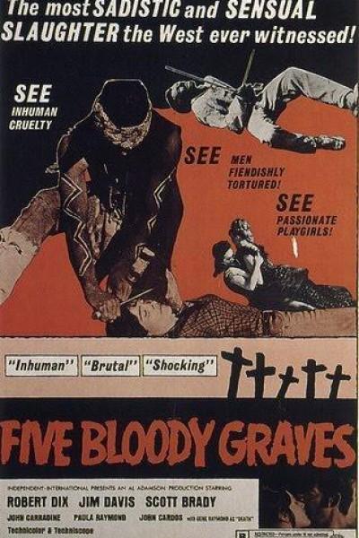 Caratula, cartel, poster o portada de Cinco tumbas sangrientas