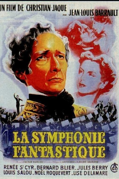 Caratula, cartel, poster o portada de Sinfonía fantástica