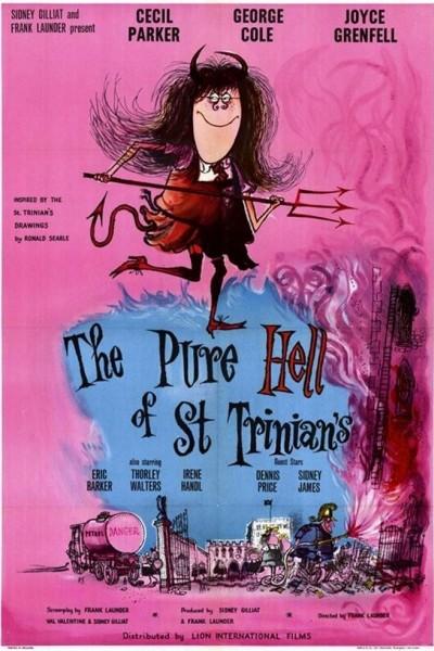 Caratula, cartel, poster o portada de The Pure Hell of St. Trinian\'s