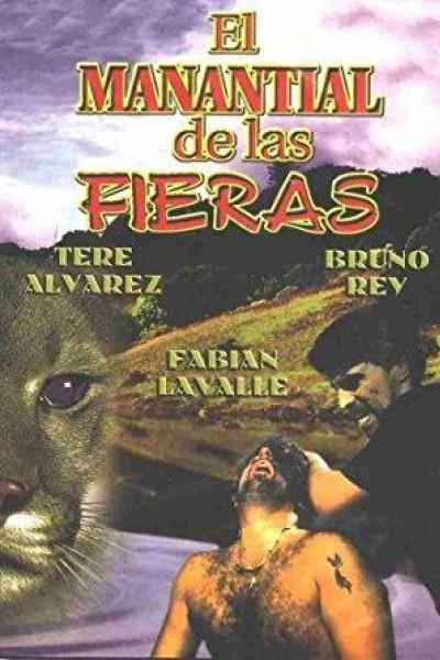 Caratula, cartel, poster o portada de El manantial de las fieras