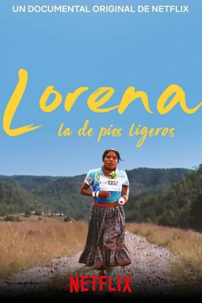 Caratula, cartel, poster o portada de Lorena, la de pies ligeros