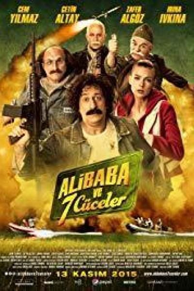 Caratula, cartel, poster o portada de Ali Baba ve 7 Cüceler